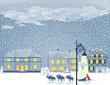 Heiligabend im Schnee