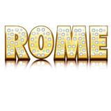 Rome 18 carats poster