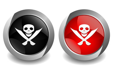 Pirates Button