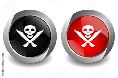 Pirates Button