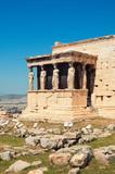 Caryatids, Athens, Greece. poster