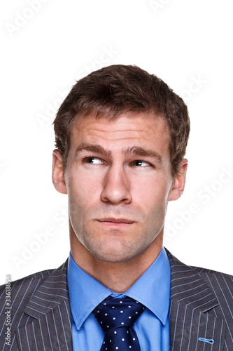 Businessman expression