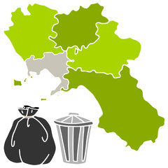 Naples and trash