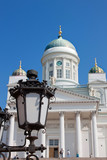 Lutheran Cathedral of Helsinki Finland poster