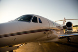Fototapety Corporate Jet Side View