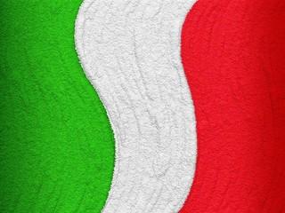 Italia Tricolore Rilievo 150° anniversario-Italy Flag