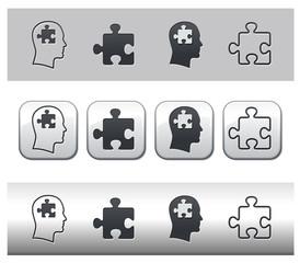 Icônes puzzle