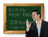mathematical formula genius tacky geek easy resolve poster