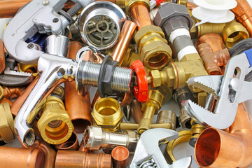wrenches & plumbers fittings