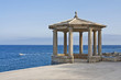 Mirador al camí de ronda Josep Ensesa de S'Agaró (Costa Brava)