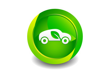 Green Car Icon