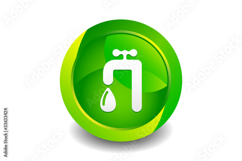 Green Sanitary Icon
