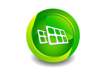 Green Solar Icon
