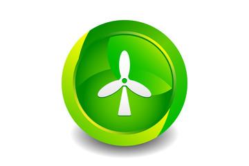 Green Turbine Icon