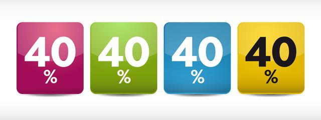 SCONTI 40%
