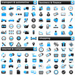 pack Icons III blue