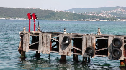 sea refueling point, shooting Canon 5D MarkII