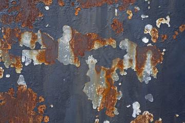 corrupt railway  steel