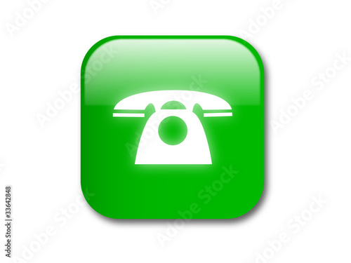 Call button -vector illustration