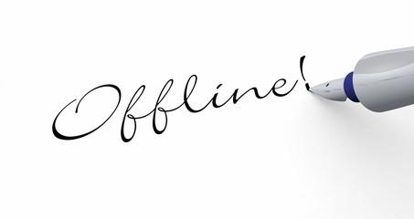 Stift Konzept - Offline