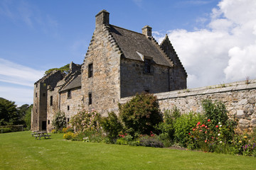 Aberdour Castle and Gardens, Fife, Scotland