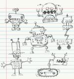 Robot doodles