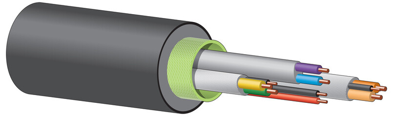 Electrical or telecommunication cable