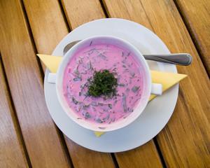 cold polish soup