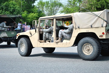 American Military Jeeps