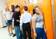 Teens Between Classes