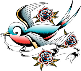 swallow greeting banner