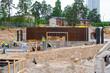Floor reinforcing in construction site
