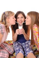 milk drink party