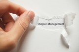 Output Management poster