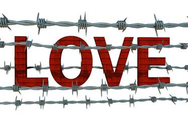 Liebe gefangen