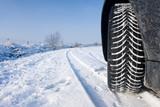 Fototapety Snow Winter Tyre