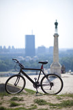 cycling in belgrade poster