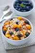 Muesli with bilberry and physalis