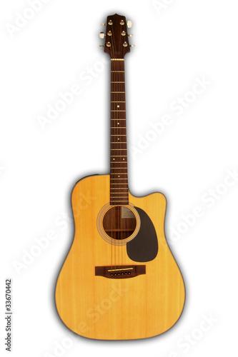 acoustic guitar - cutaway