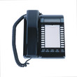 Modern blue business office telephone