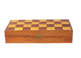 Old wooden chess