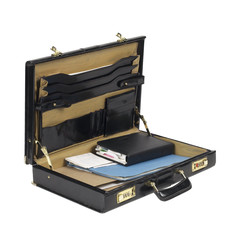 open case with documents