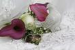 Blumenarrangement mit Eheringen