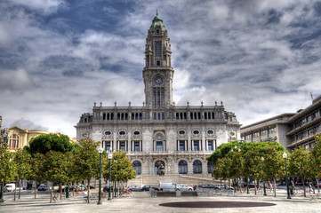 Porto City Hall, Portugal.