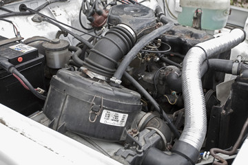 4x4 jeep engine