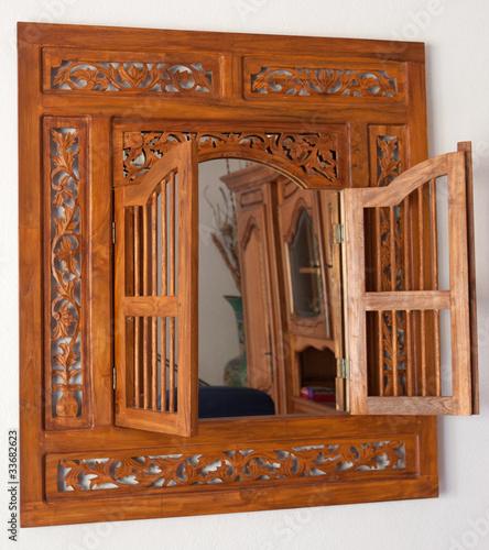Miroir marocain de unclesam photo libre de droits for Miroir marocain