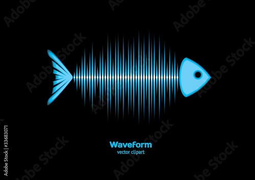 Fish bone waveform