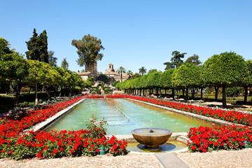 Alcázar de los Reyes Cristianos in Cordoba, Spanien