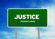 Justice Highway  Sign
