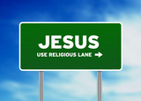 Jesus Highway Sign